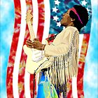Star Spangled Jimi by Bob Overstreet
