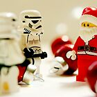Santa's little troopers by Emma Harckham