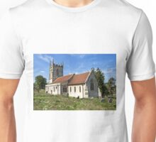 The Church of St Giles, Imber, Wiltshire, UK Unisex T-Shirt