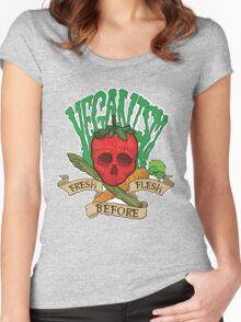 Veganism Women's Fitted Scoop T-Shirt