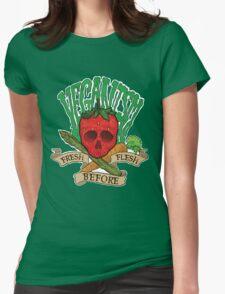 Veganism Womens Fitted T-Shirt