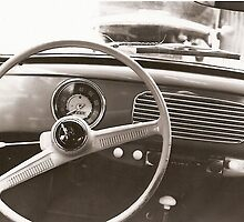 1957 Volkswagen beetle interior by Arthur  Chin Yet