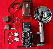 Rolleiflex Equipment by Arthur  Chin Yet