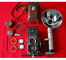 Rolleiflex Equipment Photographic Print