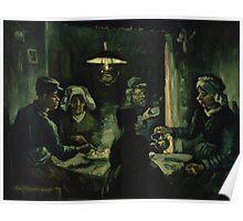Vincent Van Gogh - The potato eaters 1885 Poster
