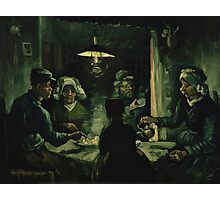 Vincent Van Gogh - The potato eaters 1885 Photographic Print