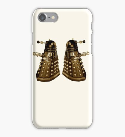 Daleks Sepia iPhone Case/Skin