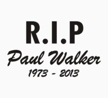 Rest In Peace -PAUL WALKER by omadesign