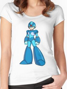 Mega Man X Women's Fitted Scoop T-Shirt