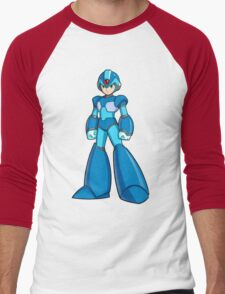 Mega Man X Men's Baseball ¾ T-Shirt