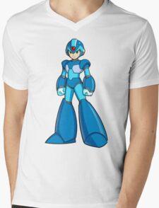 Mega Man X Mens V-Neck T-Shirt