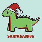 Santasaurus  by Lauramazing