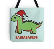 Santasaurus  Tote Bag