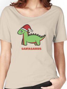 Santasaurus  Women's Relaxed Fit T-Shirt