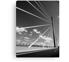 Millau Bridge South France 1 Canvas Print