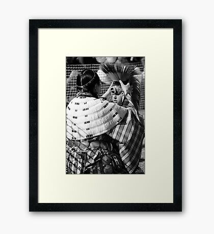 Mother's New Chief Framed Print