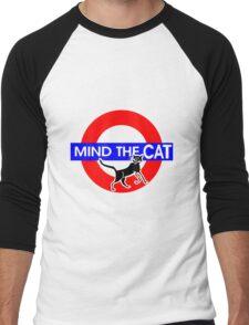 Mind The Cat Men's Baseball ¾ T-Shirt