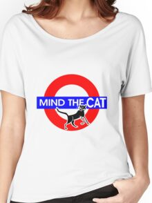 Mind The Cat Women's Relaxed Fit T-Shirt