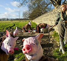 Piggy Herder by Sparrowhawk82