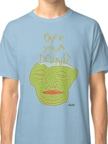 Thoughts of the green man Classic T-Shirt