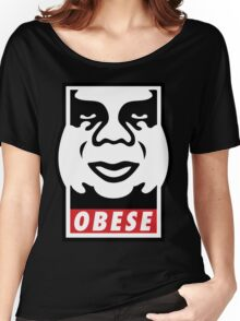 OBESE Women's Relaxed Fit T-Shirt