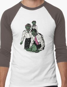 Z-gans Men's Baseball ¾ T-Shirt