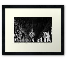 Hall of mirrors Framed Print