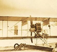 The Flight Of The (Curtiss) Bumble Bee, Chautauqua, NY by artwhiz47