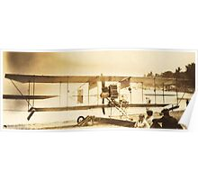 The Flight Of The (Curtiss) Bumble Bee, Chautauqua, NY Poster