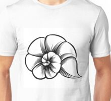 Sea Shell Emblem Unisex T-Shirt
