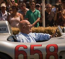 Sir Stirling Moss by barrylee
