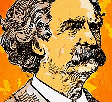 MARK TWAIN-3 by OTIS PORRITT