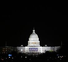 Capitol at Night by anniemgo