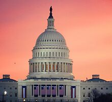 Capitol at Sunrise by anniemgo