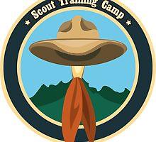 Scout camp logo by devaleta