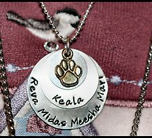 My Service Dog Necklace Tribute(read description) by Keala