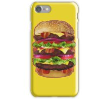 Jumbo Bacon Cheeseburger Phone Case iPhone Case/Skin