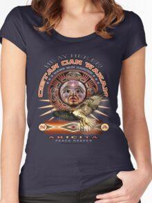 lady hawk Women's Fitted Scoop T-Shirt