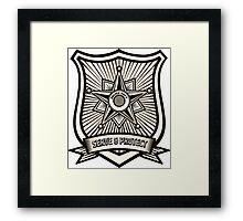 Police Badge Framed Print