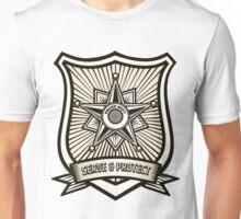 Police Badge Unisex T-Shirt