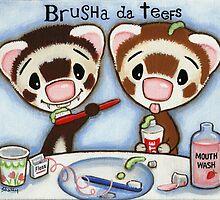 Brusha Da Teefs by Shelly  Mundel