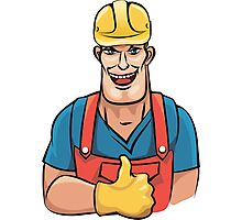 Plumber service Photographic Print