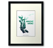 Kakashi Hatake Framed Print