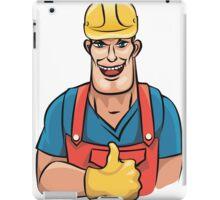 Plumber service iPad Case/Skin