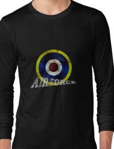 England Airforce ww2 style Long Sleeve T-Shirt
