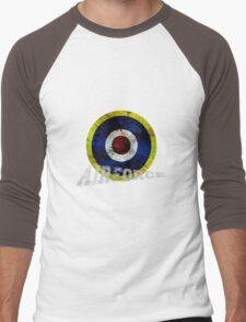 England Airforce ww2 style Men's Baseball ¾ T-Shirt