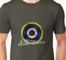 England Airforce ww2 style Unisex T-Shirt