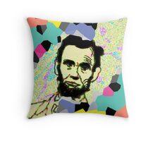 Lincoln 2 Throw Pillow