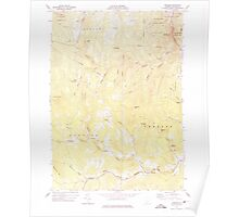 USGS Topo Map  Vermont VT Andover 337289 1971 24000 Poster