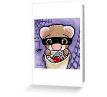 Fuzzy Bandito Greeting Card